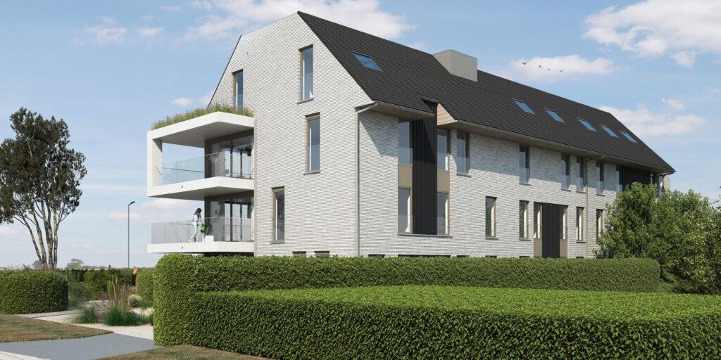 Noordoost appartement Middelkerke